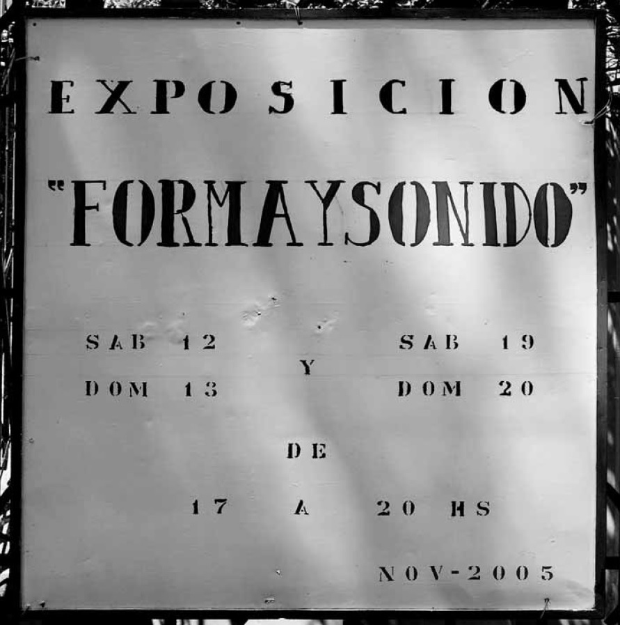 FORMA Y SONIDO
