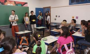 Na Escola Joao Alfredo