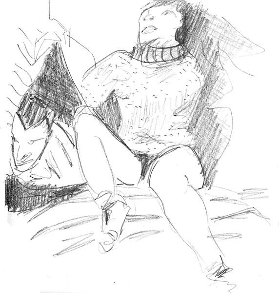 Estudio (sobre Yvonne Rainer)_ F Tomsich