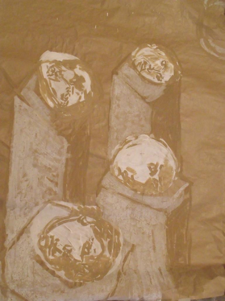 CABEZAS (ESTUDIO PARA UNA ALEGORÍA) - F TOMSICH - 2009