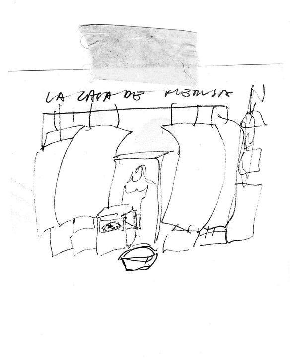 PRIMER ESBOZO DE CASA DE MEDUSA, 2010 F TOMSICH