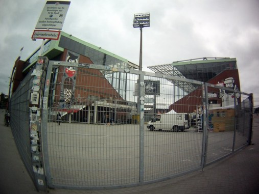 El estadio del St Pauli