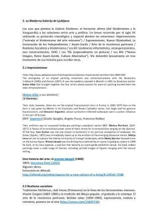 Historias del arte de Eslovenia. Modelos de actuación recientes. Conferencia de Francisco Tomsich, MNAV, Montevideo, 26 de julio de 2014_Página_2