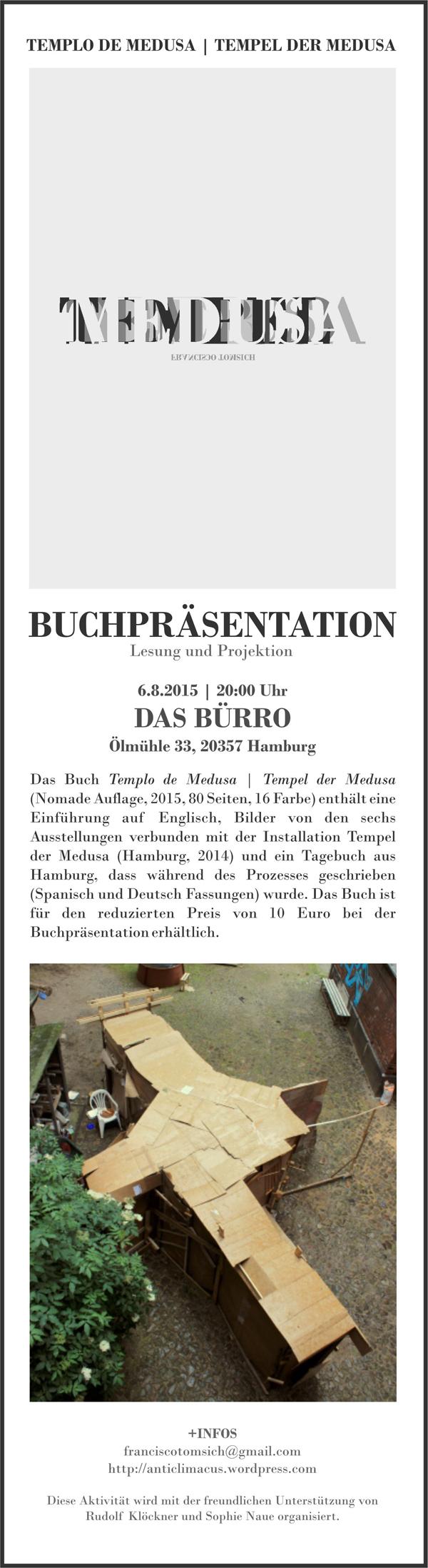 TEMPEL DER MEDUSA_PRÄSENTATION