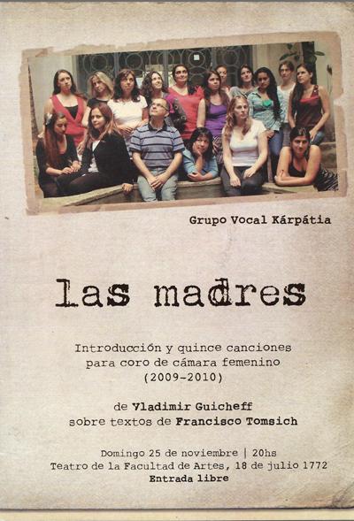 LAS MADRES_PROGRAMA
