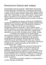 BRANISLAVA SUŠNIK MED VODAMI 3
